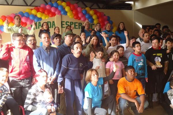 Apae de São Borja foi beneficiada durante um ano pelo projeto (Foto: Josiane Pimentel, RBS TV)