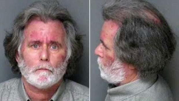 James Verone roubou 1 dólar em banco para ir preso e ter tratamento médico (Foto: Gaston Country Jail)