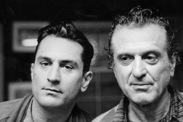 Robert de Niro e Robert De Niro Sr. (Foto: Documentário 'Remembering The Artist: Robert De Niro Sr.')