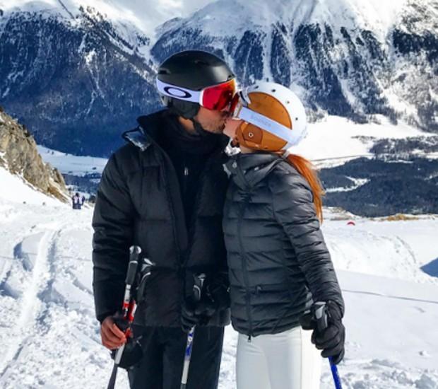 Marina Ruy Barbosa e o noivo, o piloto Xandinho Negrão (Foto: Reprodução/Instagram)