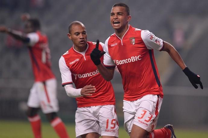Aderllan Santos, Braga, zagueiro (Foto: Reprodução/Facebook oficial Sporting Braga)