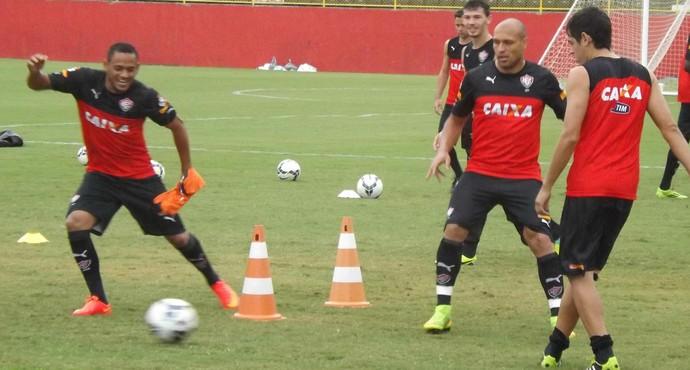vitória treino (Foto: Thiego Souza/ EC Vitória/ Divulgação)