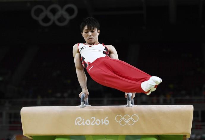 Kohei Uchimura; ginástica artística; japão; olimpíadas (Foto: Dylan Martinez/Reuters)