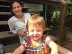 Malvino Salvador mostra a mulher, Kyra Gracie, e a filha caçula