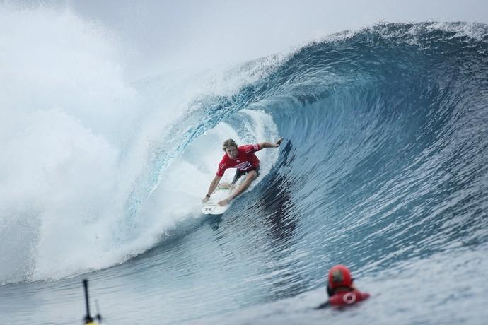 John John Florence ficou com o vice-campeonato no Taiti (Foto: Divulgação)