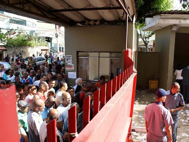 Eleição 2012 em Salvador (Foto: Egi Santana/ G1)