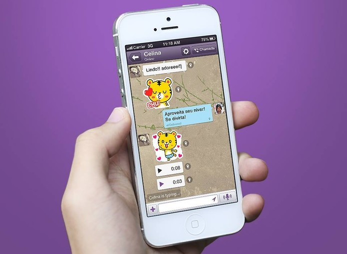 Como seguir chats públicos no Viber? (Foto: Divulgação/Viber)