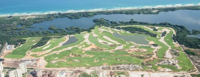 Campo de golfe dos Jogos do Rio 2016 (Foto: Renato Sette Câmara/Prefeitura do Rio)