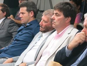 OSVALDO SESTARIO no stjd Representantes da Portuguesa (Foto: Edgard Maciel de Sá)