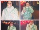 Giovanna Antonelli enfrenta o frio e se diverte em Nova York