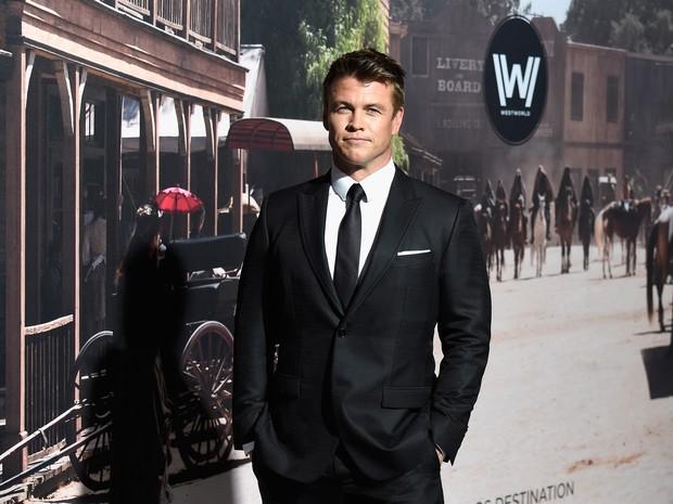Luke Hemsworth em première de filme em Los Angeles, nos Estados Unidos (Foto: Frazer Harrison/ Getty Images/ AFP)