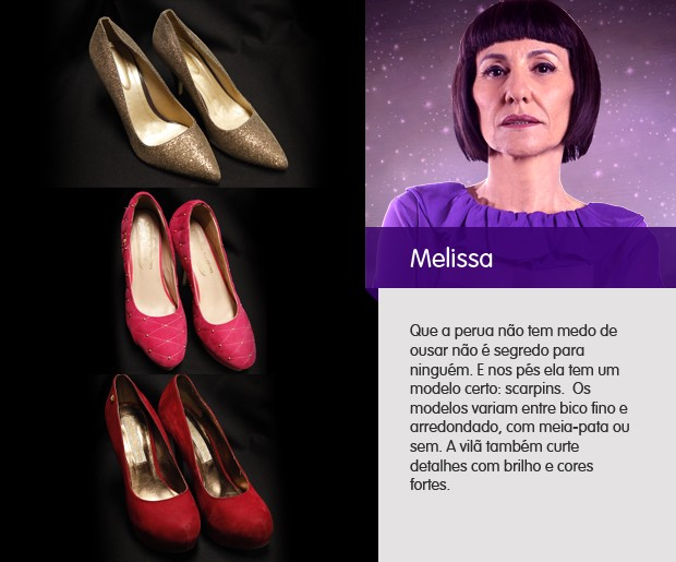 sapatos melissa (Foto: Amor Eterno Amor / TV Globo)