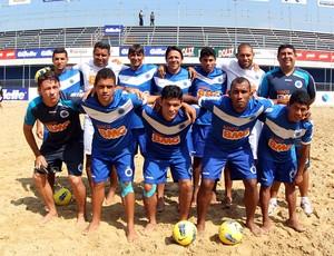 futebol de areia Cruzeiro x Botafogo Mundial de Clubes (Foto: Gaspar Nobrega / Inovafoto)