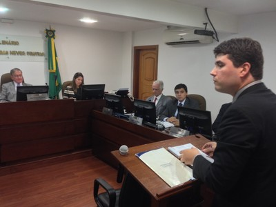 julgamento fluminense tjd-rj (Foto: Vicente Seda)