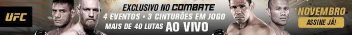 banner header Combate UFC novembro (Foto: Combate)