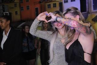 Clara e Vanessa (Foto: Eduardo Souza / Flash2Rec / Divulgação)