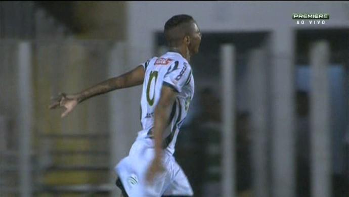 Osman gol Luverdense (Foto: Reprodução \Premiere)