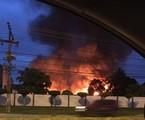 Incêndio nos Estúdios Globo | Arquivo pessoal
