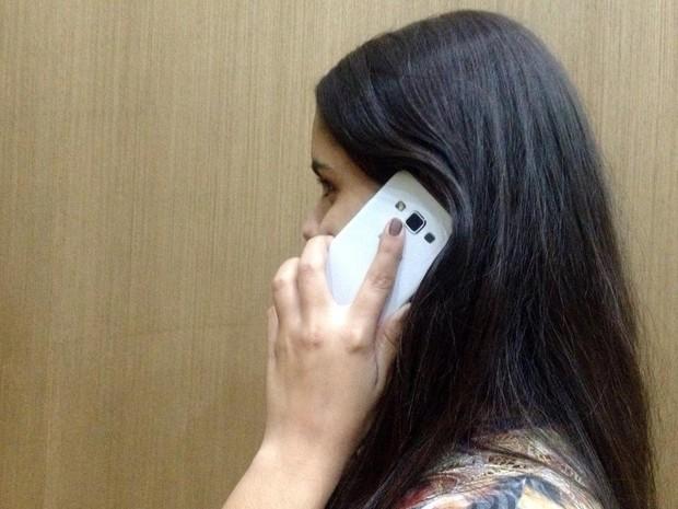 Telefonia móvel (Foto: Heloise Hamada/G1)