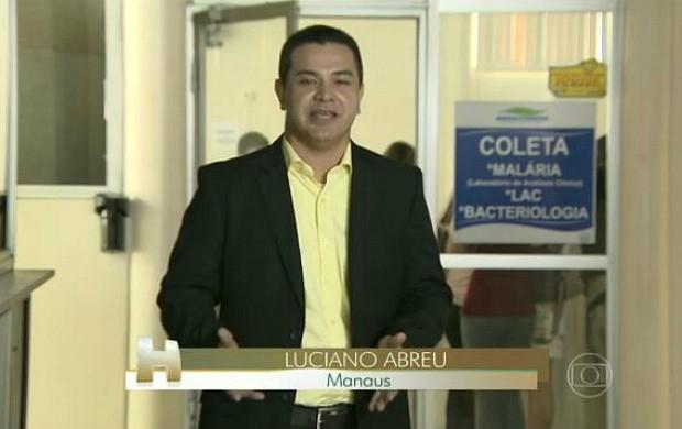 A reportagem foi de Luciano Abreu  (Foto: Jornal Hoje)