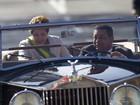 Após chegar da Rússia, Dilma desfila em Rolls-Royce no 7 de setembro