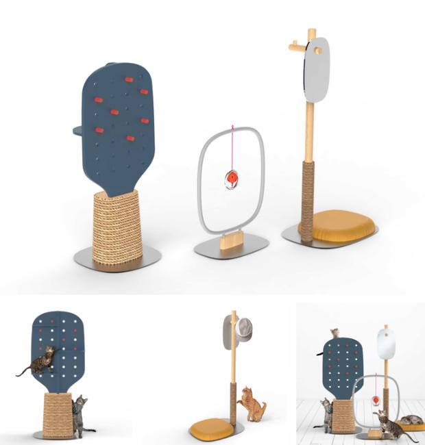 design-mobilia-para-gatos-sherlynn-low-joel-lim (Foto: Divulgação)