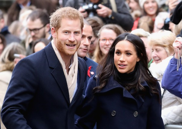 O Príncipe Harry e a atriz Meghan Markle (Foto: Getty Images)