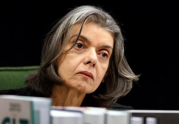 A presidente do sTF, ministra Cármen Lúcia (Foto: Nelson Jr./SCO/STF)