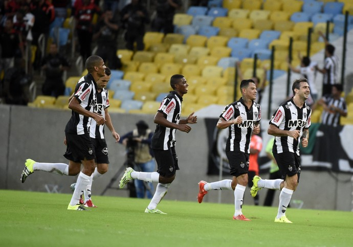 Gol do Atlético contra o Flamengo no Maracanã (Foto: André Durão)