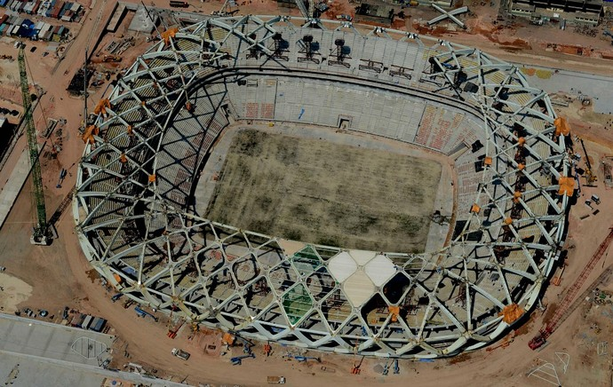Arena da Amazônia, Manaus (Foto: Chico Batata/Agecom)