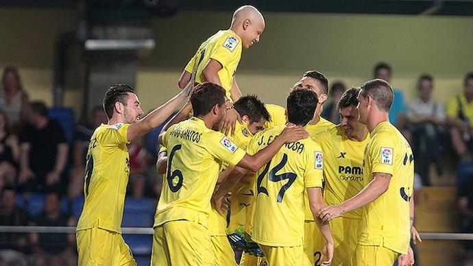 Villarreal crianças com câncer (Foto: Site Oficial do Villarreal)