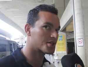Rever no embarque do Atlético-MG. (Foto: Divulgação / Lucas Catta Prêta)