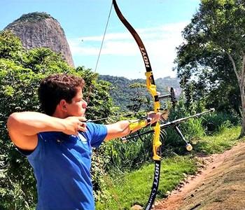 Marcus D'Almeida, atleta do tiro com arco (Foto: Reprodução/ Instagram)