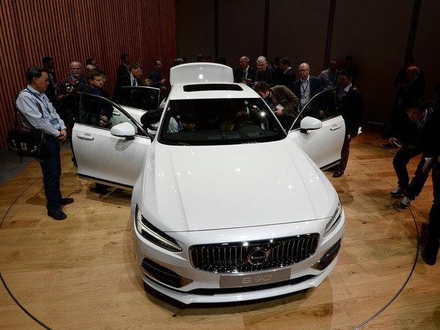 Volvo S90 (Foto: Jewel Samad/AFP Photo)