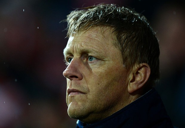 Heimir Hallgrimsson, técnico da seleção da Islândia (Foto: Dan Mullan/Getty Images)