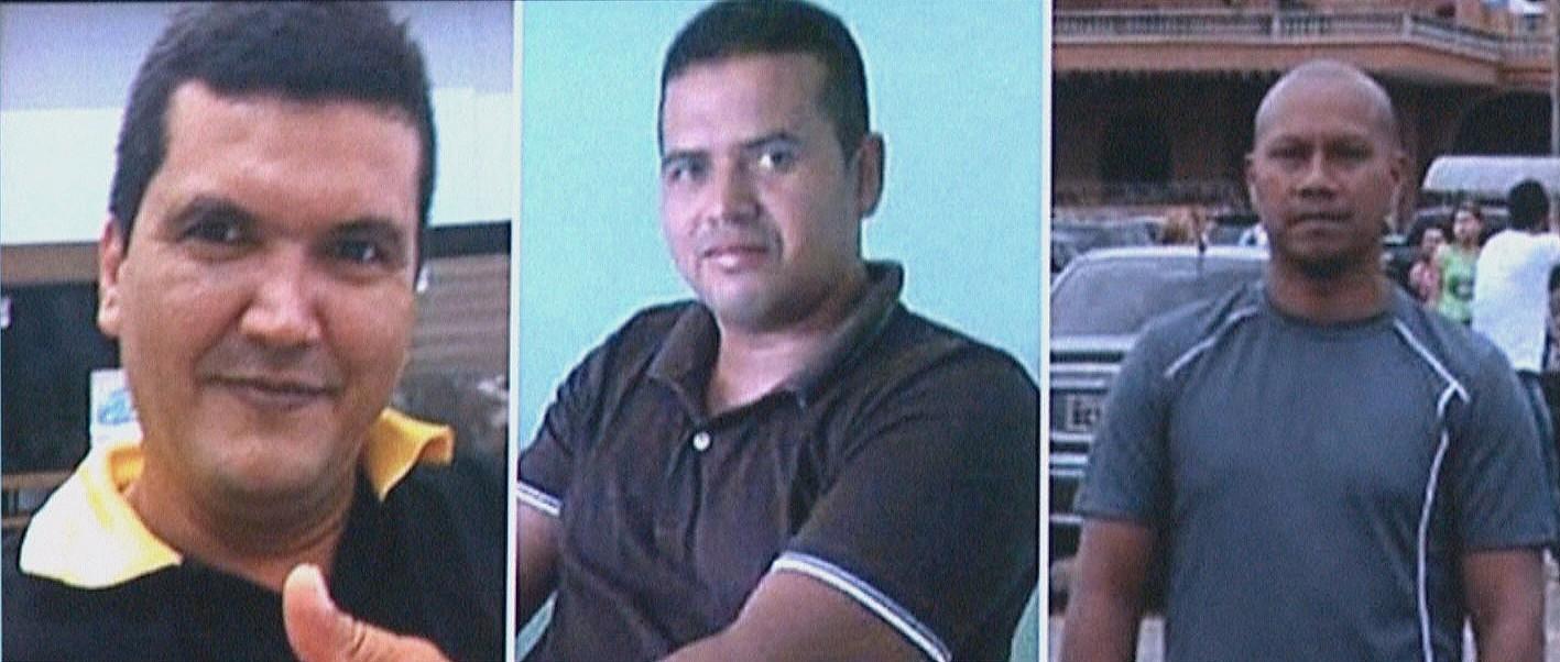 Três homens estão desaparecidos (Foto: Reprodução/TV Amazonas)