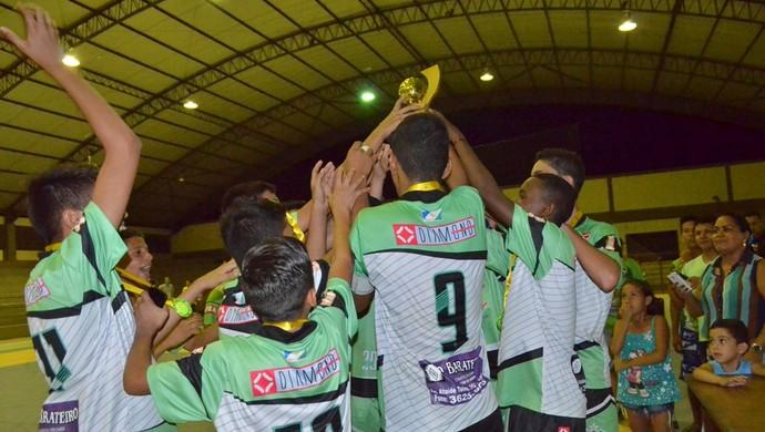 Campeonato Roraimense de Futsal Sub-14 (Foto: Nailson Wapichana)