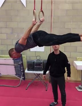 BLOG: GSP mostra rotina de treino com argolas para luta com Michael Bisping