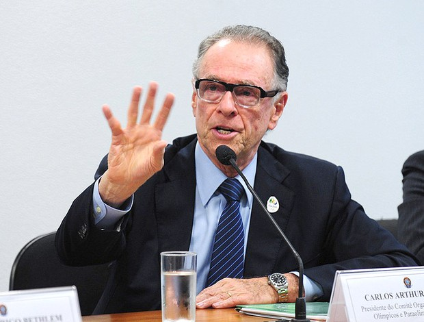 Carlos Nuzman  Congresso Nacional Olimpíadas (Foto: Laycer Tomaz / Agência Câmara)