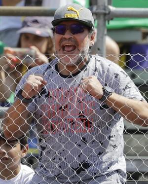 Diego Maradona Argentina Copa Davis (Foto: AP)
