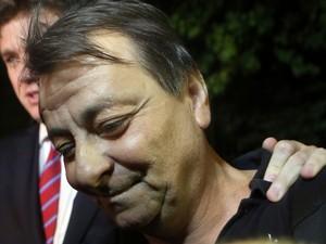 ex-ativista italiano Cesare Battisti foi solto no final da noite de quinta-feira, 12, sete horas depois de ter sua prisão preventiva decretada (Foto: Alex Silva/ Estadão Conteúdo)