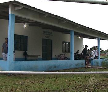 Estádio Adauto Brito Frota, o Frotão (Foto: Reprodução/TV Acre)
