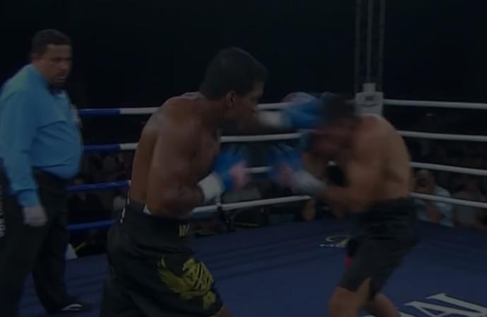 Yamaguchi Falcão x Jorge Piedritra Caraballo , boxe (Foto: Reprodução/SporTV)