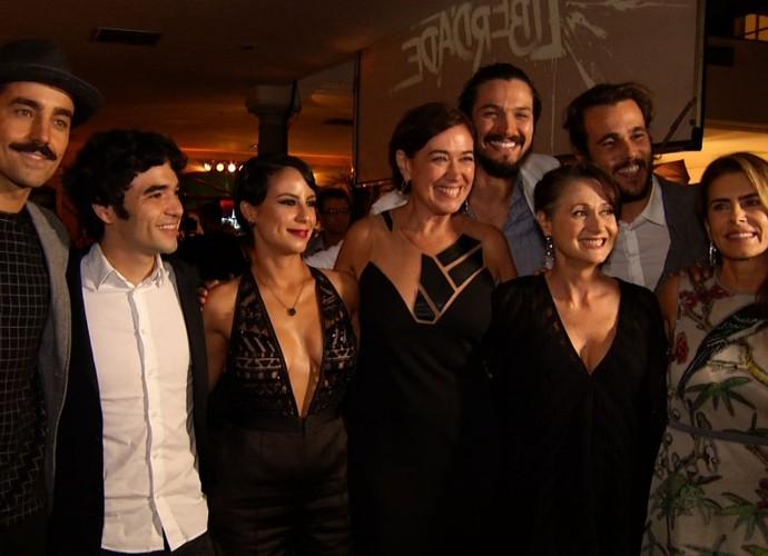 O 'Revista' acompanhou a festa de lançamento de 'Liberdade, Liberdade' (Foto: Rio Sul Revista)