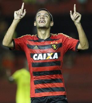 Sport x Cene-MS gol Neto Moura (Foto: Aldo Carneiro/Pernambuco Press)