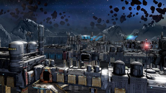 Colete recursos e construa sua base em Asteroids: Outpost (Foto: VG247)