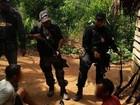 Operação apreende armas e  munições na zona rural de Placas