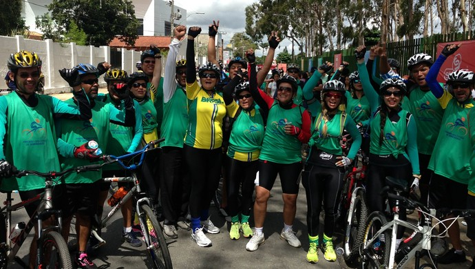 1º Passeio Ciclístico de Garanhuns (Foto: Vital Florêncio / GloboEsporte.com)