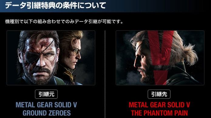 Transferência de save de Ground Zeroes para Metal Gear Solid 5: The Phantom Pain liberará extras (Foto: Reprodução/VG247)