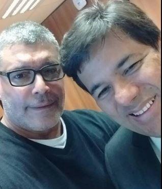 Alexandre Frota em selfie com o ministro (Foto: reprodução/instagram)